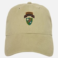 2nd Ranger Bn with Ranger Tab Baseball Baseball Cap