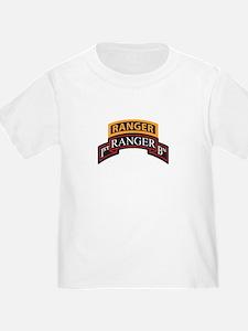 1st Ranger BN Scroll with Ran T