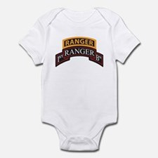 1st Ranger BN Scroll with Ran Infant Bodysuit