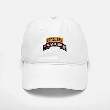 1st Ranger BN Scroll with Ran Baseball Baseball Cap