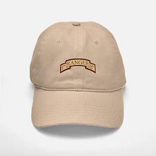 1st Ranger Bn Scroll Desert Baseball Baseball Cap