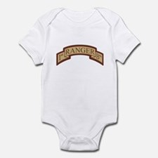 1st Ranger Bn Scroll Desert Infant Bodysuit