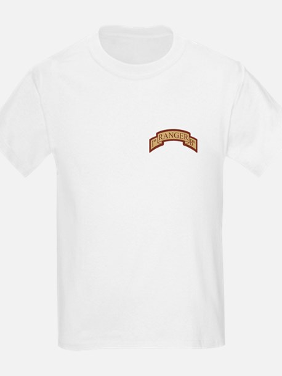 1st Ranger Bn Scroll Desert T-Shirt