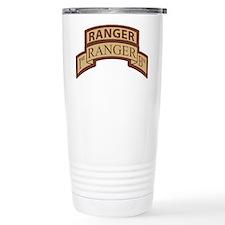 1st Ranger Bn Scroll/ Tab Des Travel Mug