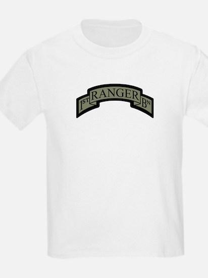 1st Ranger BN Scroll ACU T-Shirt