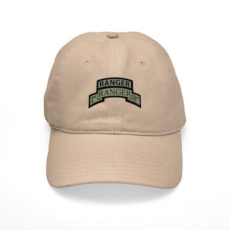 1st Ranger Bn with Ranger Tab Cap