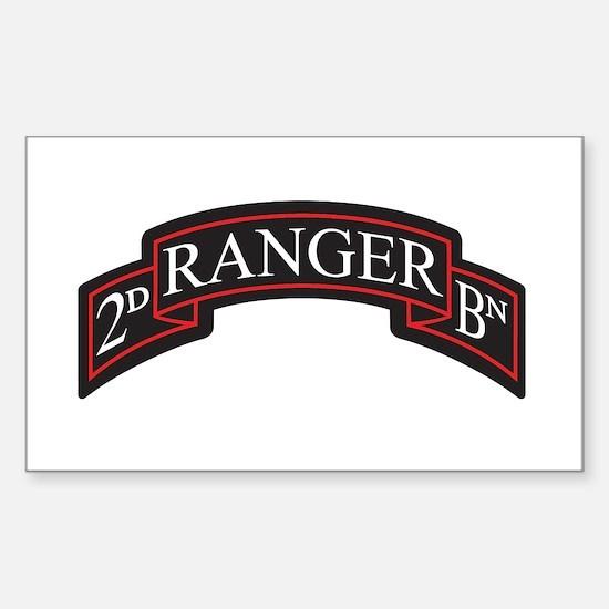 2D Ranger BN Scroll Rectangle Decal