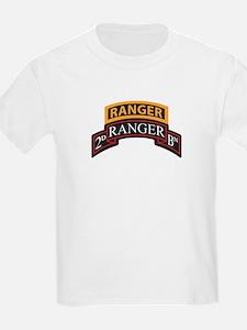 2D Ranger BN Scroll with Rang T-Shirt