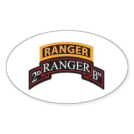 2D Ranger BN Scroll with Rang Oval Sticker
