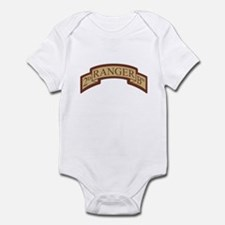 2nd Ranger Bn Scroll Desert Infant Bodysuit