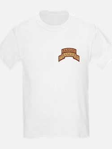 2nd Ranger Bn Scroll/Tab Dese T-Shirt