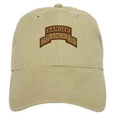 2nd Ranger Bn Scroll/Tab Dese Baseball Cap