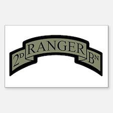 2D Ranger BN Scroll ACU Rectangle Decal