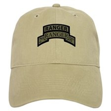 2nd Ranger Bn Scroll/Tab ACU Baseball Baseball Cap