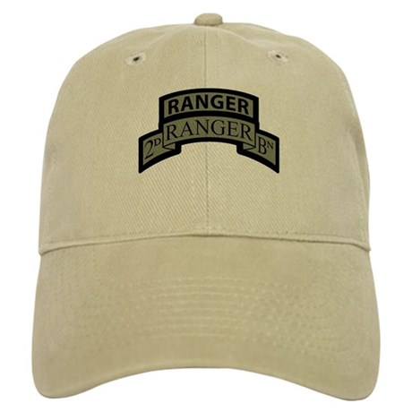 2nd Ranger Bn Scroll/Tab ACU Cap