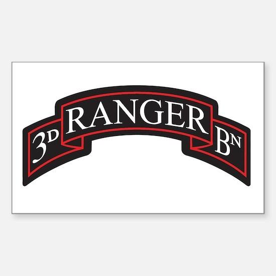 3D Ranger BN Scroll Rectangle Decal