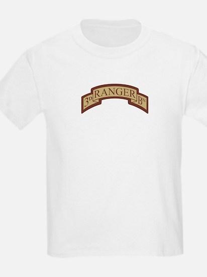 3rd Ranger Bn Scroll Desert T-Shirt