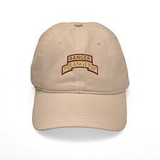 3rd Ranger Bn Scroll/Tab Dese Baseball Baseball Cap