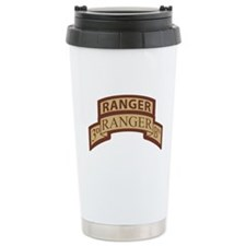 3rd Ranger Bn Scroll/Tab Dese Travel Mug