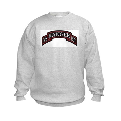75 Ranger RGT scroll Kids Sweatshirt
