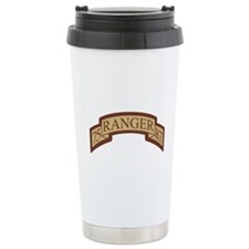 75th Ranger Regt Scroll Deser Travel Mug