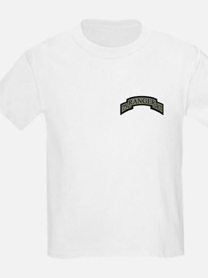 75th Ranger Regt Scroll ACU T-Shirt