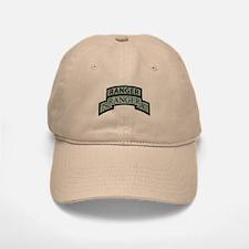 75th Ranger Regt Scroll with Baseball Baseball Cap