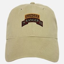 75 Ranger STB scroll with Ran Baseball Baseball Cap