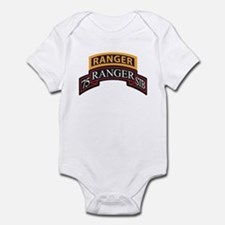 75 Ranger STB scroll with Ran Infant Bodysuit