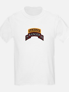 75 Ranger STB scroll with Ran T-Shirt