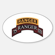 75 Ranger STB scroll with Ran Oval Decal