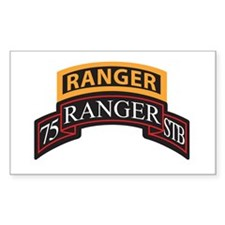 75 Ranger STB scroll with Ran Rectangle Decal