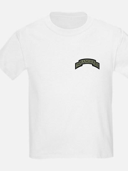 75th Ranger STB Scroll ACU T-Shirt