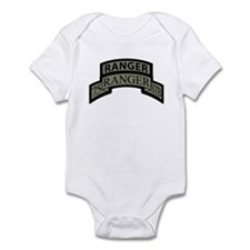 75th Ranger STB Scroll/tab Infant Bodysuit