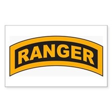 Ranger Tab Rectangle Decal