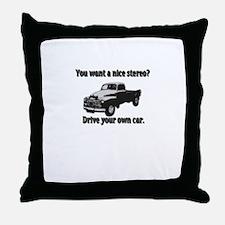 Unique Team bella Throw Pillow
