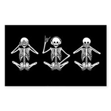 Hear No Evil? Rectangle Decal