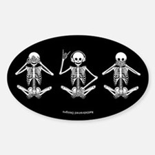 Hear No Evil? Oval Decal