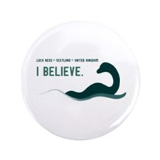 """Nessi - I believe 3.5"""" Button (100 pack)"""