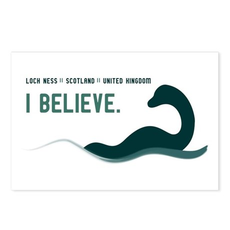 Nessi - I believe Postcards (Package of 8)