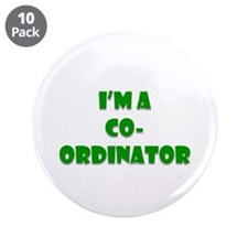 "Coordinator 3.5"" Button (10 Pack)"
