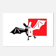 Vampire Bat Postcards (Package of 8)