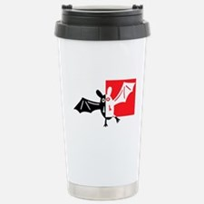 Vampire Bat Stainless Steel Travel Mug