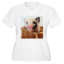 T-SHIRT-LARGE Plus Size T-Shirt