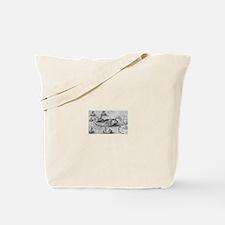 St. Brendan's Voyage Tote Bag