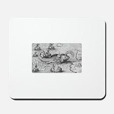St. Brendan's Voyage Mousepad