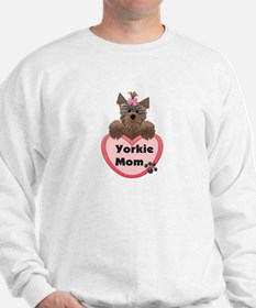 Yorkie Mom Sweatshirt