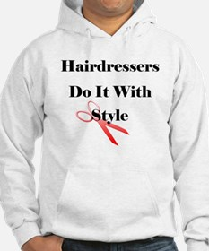 Hairdressers Do It With Style Hoodie