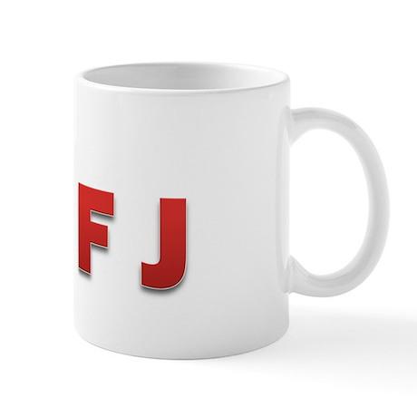 INFJ Letter Mug