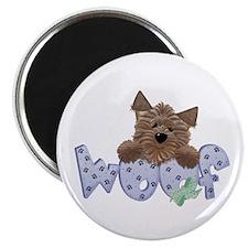 "dog woof 2.25"" Magnet (100 pack)"
